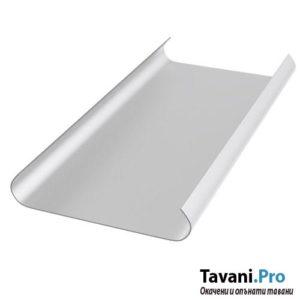 Бял алуминиев ламел за окачен таван тип Хънтър Дъглас цена