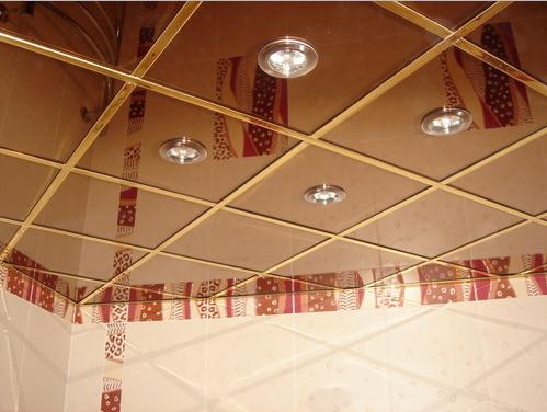 Внос на растерни окачени тавани